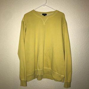Forever 21 Yellow Fleece sweatshirt